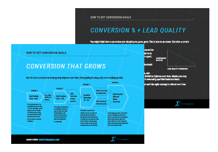 eBook by Ironpaper: What is a Good Conversion Rate?